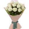 10 szál fehér rózsa