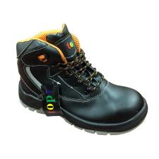 (1193030758) TOP HARDY MID S3 munkavédelmi bakancs, kompozit orrmerevítő és fémmentes talplemez, bőr felsőrész, PU talp, fényvisszaverő csík, fekete, 42 munkavédelmi cipő