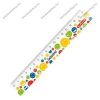 17 cm Smiley Rainbow műanyag vonalzó - Herlitz