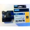 1805243 ID1 PVC szalag, 12mmx5,5m fehér/kék
