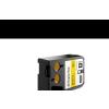 1868773 XTL Dymo szalag 24mmx7m fekete/sárga