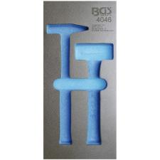 1/3 Szerszámtálca szerszámkocsihoz, üresen: 2 részes lakatos és kőtörő kalapács készlethez (nem tartozék) (BGS 4046-1) autójavító eszköz