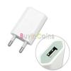 220V USB töltő rózsaszín