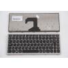 25205065 Magyar billentyűzet ezüst, fekete