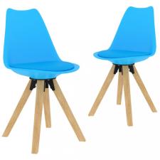 2 db kék étkezőszék bútor