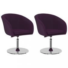 2 db lila műbőr étkezőszék bútor