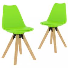 2 db zöld étkezőszék bútor