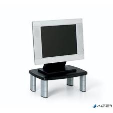 """3M Monitorállvány, 3M """"MS80B"""", fekete-ezüst monitor kellék"""