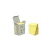 3M POSTIT Öntapadó jegyzettömb, 38x51 mm, 100 lap, környezetbarát, 3M POSTIT, sárga (6db)