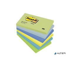 3M POSTIT Öntapadó jegyzettömb, 76x127 mm, 5x100 lap, 3M POSTIT, álmodozó színek jegyzettömb