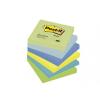 3M POSTIT Öntapadó jegyzettömb, 76x76 mm, 100 lap, 3M POSTIT, álmodozó színek