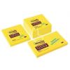 "3M POSTIT Öntapadó jegyzettömb, 76x76 mm, 350 lap, 3M POSTIT ""Super Sticky"", sárga"