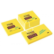 "3M POSTIT Öntapadó jegyzettömb, 76x76 mm, 350 lap, 3M POSTIT ""Super Sticky"", sárga jegyzettömb"