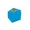 3M POSTIT Öntapadó jegyzettömb, 76x76 mm, 90 lap, 3M POSTIT Super Sticky, kék