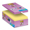 """3M POSTIT Öntapadó jegyzettömb csomag, 76x76 mm, 16x90 lap, 3M POSTIT """"Super Sticky"""", sárga"""