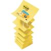 """3M POSTIT Öntapadó jegyzettömb, """"Z"""", 76x76 mm, 100 lap, 3M POSTIT, sárga"""