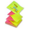"""3M POSTIT Öntapadó jegyzettömb, """"Z"""", 76x76 mm, 100 lap, , sárga-rózsaszín"""