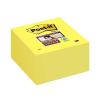 "3M POSTIT ""Super Sticky"" 76x76 mm 350 lapos sárga öntapadó jegyzettömb"