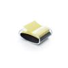 """3M POSTIT """"Z"""" négyzet formájú fekete/átlátszó jegyzettömb adagoló"""