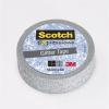 "3M Scotch Ragasztószalag, 15 mm x 5 m, glitteres, 3M SCOTCH, ""Expression"", ezüst"