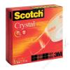 3M Scotch Ragasztószalag, 19 mm x 7,5 m, 3M SCOTCH Crystal (LPM61975R2)