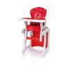 4 Baby Fashion Multifunkciós Etetőszék - Asztalkává alakítható! - PIROS