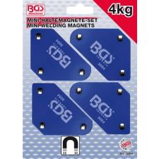 4 darabos mini-mágneses tartó, 45°-90°-135° (BGS 3004) autójavító eszköz