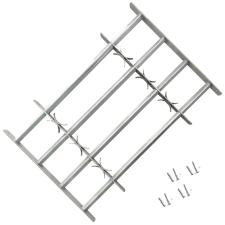4 keresztrudas állítható biztonsági rács ablakra 500-650 mm építőanyag