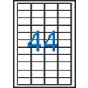 VICTORIA 4 pályás etikett, 48,5x25,4 mm, 4400 etikett/csomag