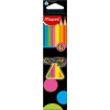 MAPED COLOR`PEPS FLUO színes ceruza, 6 db/doboz