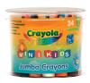Crayola : 24 db tömzsi viaszkréta kreatív és készségfejlesztő