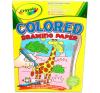 Crayola : 40 lapos színes rajztömb kreatív és készségfejlesztő