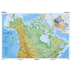 Stiefel Eurocart Kft. Kanada, domborzati (angol)