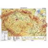 Stiefel Eurocart Kft. Csehország, domborzati   vaktérkép DUO (cseh)