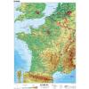 Stiefel Eurocart Kft. Franciaország, domborzati (francia)