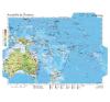 Stiefel Eurocart Kft. Ausztrália és Óceánia gazdasága térkép