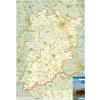 Stiefel Eurocart Kft. Bács-Kiskun megye térképe, tűzhető, keretes