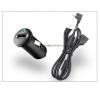 Sony Ericsson Aspen/Vivaz/X2/X10 USB szivargyújtós töltő adapter+microUSB adatkábel - AN400+EC600L (csomagolás nélküli) mobiltelefon kellék