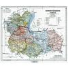 Stiefel Eurocart Kft. Sopron vármegye térképe fakeretben