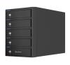 Sharkoon 5-BAY RAID Box külső merevlemez tároló számítógépház