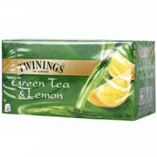 TWININGS Zöld tea 25 filteres citrommal tea