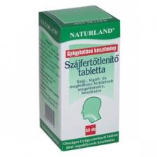 Naturland szájfertőtlenítő tabletta kozmetikum