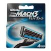Gillette Mach3 Turbo borotva betét 4 db-os