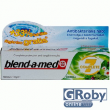 Blend-a-med Complete 7 fogkrém 100 ml herbal fogkrém