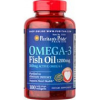 Puritans Pride Omega-3 Fish Oil 1200mg 100db