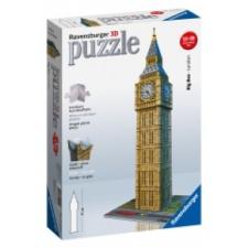 Ravensburger 3D Puzzle - Big Ben puzzle, kirakós