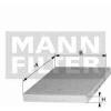 MANN FILTER Pollenszűrő MANN  CU2440
