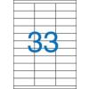 VICTORIA 3 pályás etikett, 70x25,4 mm, 3300 etikett/csomag