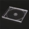 Átlátszó normál CD tok átlátszó tálcával, 1 l emez