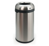 VEPA BINS Nyitott tetejű szemetes, rozsdamentes acél, ezüst , 60l szemetes